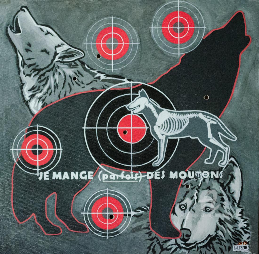 Murzo - Le loup - les mal aimés