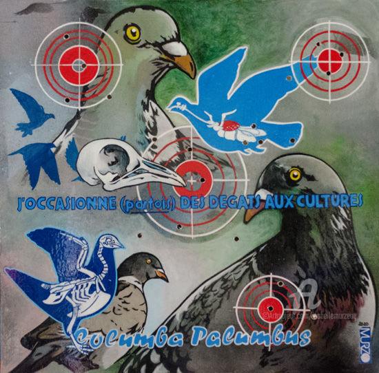 Le pigeon ramier - Les mal aimés